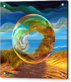 Beyond The Sea  Acrylic Print by Robin Moline