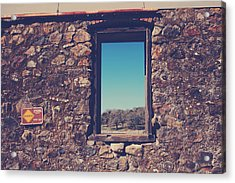 Beyond These Walls Acrylic Print by Laurie Search
