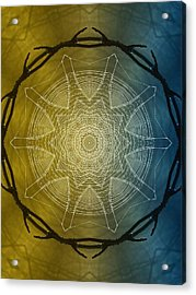 Beyond Time Acrylic Print by Tom Druin