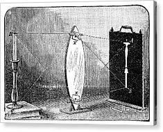 Biconvex Lens Model, 19th Century Acrylic Print by Spl