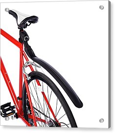 Bicycle Mud Guard Acrylic Print by Science Photo Library