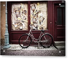 Bicycle Acrylic Print by Ryan Wyckoff