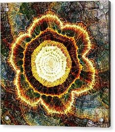 Big Bang Acrylic Print by Anastasiya Malakhova