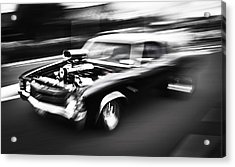 Big Block Chevelle Acrylic Print by Phil 'motography' Clark