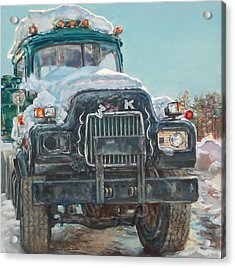 Big Mack Acrylic Print by Sharon Jordan Bahosh