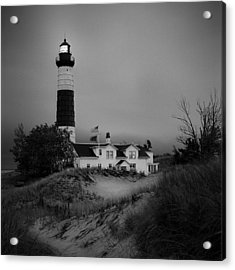 Big Sable Point Light Acrylic Print by Jeff Burton