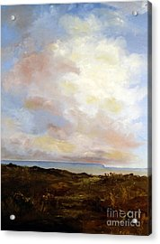 Big Sky Country Acrylic Print by Lee Piper