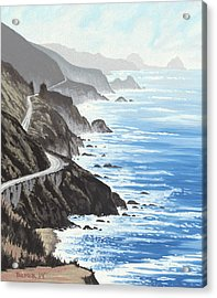 Big Sur Acrylic Print by Andrew Palmer