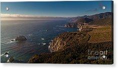 Big Sur Headlands Acrylic Print by Mike Reid