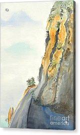 Big Sur Highway One Acrylic Print by Susan Lee Clark