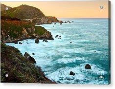 Big Sur Sunrise Acrylic Print by Jamie Pham