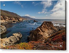 Big Sur Vista Acrylic Print by Mike Reid