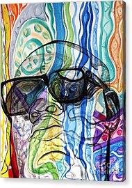 Biggie Acrylic Print by Aliya Michelle