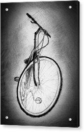 Bike Acrylic Print by Di Fernandes