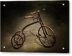 Bike - The Tricycle  Acrylic Print by Mike Savad