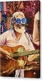 Bill Nershi At Horning's Hideout Acrylic Print by Joshua Morton