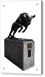 Bill The Goat Acrylic Print by Olivier Le Queinec