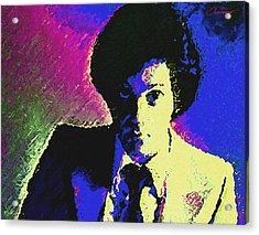 Billy Joel Acrylic Print by John Travisano