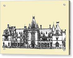 Biltmore Estate In Asheville Acrylic Print by Adendorff Design