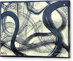 Biological Rhythms Acrylic Print by Taikan Nishimoto
