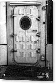 Biosphere2 - Door Acrylic Print by Gregory Dyer