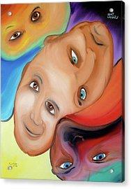 Bipolar Acrylic Print by J FLoRian Dunn
