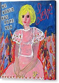 Bipolar Acrylic Print by Lisa Piper Menkin Stegeman