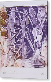 Birches In Winter Acrylic Print by Claudia Smaletz