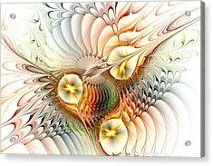 Birds Acrylic Print by Anastasiya Malakhova