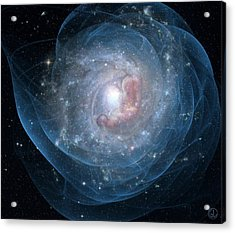 Birth Of A Galaxy Acrylic Print by Gun Legler