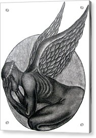 Birth Of An Angel Acrylic Print by Patrick Carrington