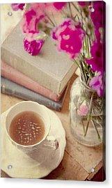 Birthday Tea Time Acrylic Print by Toni Hopper