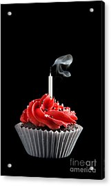 Birthday Wish Acrylic Print by Cindy Singleton