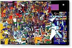 Bitachon 4  Acrylic Print by David Baruch Wolk