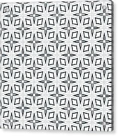 Black And White Designs Acrylic Print by Savvycreative Designs