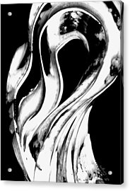 Black Magic 306 Inverted Acrylic Print by Sharon Cummings