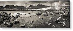Black Mount From Rannoch Moor Acrylic Print by Maciej Markiewicz