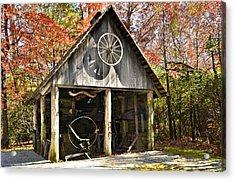 Blacksmith Shop Acrylic Print by Susan Leggett