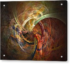 Blagora Acrylic Print by David April