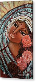 Blessings Of The Magdalene Acrylic Print by Maya Telford