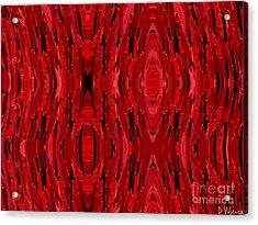 Blood Revenge-mechanical- Imaginary Texture Acrylic Print by David Winson