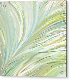 Blooming Grass Acrylic Print by Lourry Legarde