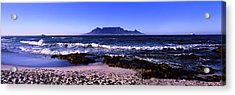Blouberg Beach, Cape Town, Western Cape Acrylic Print by Panoramic Images