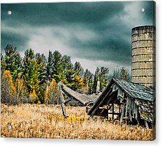 Blown Away Acrylic Print by Maggy Marsh