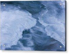 Blue 3                              Acrylic Print by Jack Zulli
