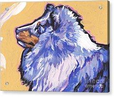 Blue Beauty Acrylic Print by Lea S
