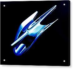 Blue Chrome Jet Acrylic Print by Phil 'motography' Clark