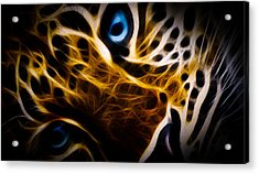 Blue Eye Acrylic Print by Aged Pixel