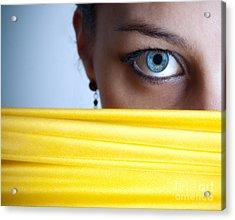 Blue Eye Acrylic Print by Jelena Jovanovic