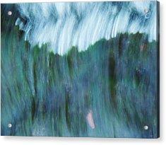 Blue Haze Acrylic Print by Todd Sherlock